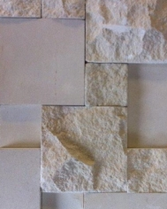 3D White Limestone Mix 200x400
