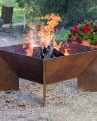 Large Welded Fire Pit
