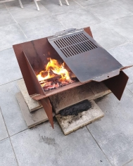 Slot Together Fire Pit