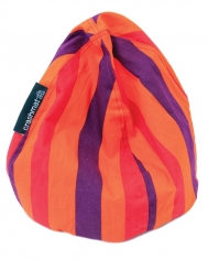 Bubble Bag - Tangerine Dream Stripe