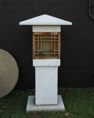 Granite Lantern Contemporary