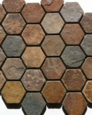 Cottage Slate Hexagon