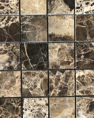 Dark Emperador Polished 48x48