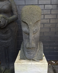 small easter island head