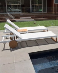 White Ekka Lounger