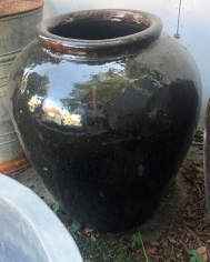 Brown Glazed Pot 2