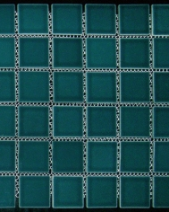 Green Gloss Mosaic 48x48mm