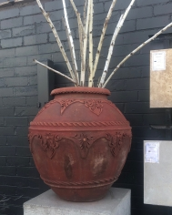 Cherry Pot with Motif