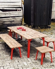 Industrial Dining Table 150x80
