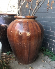 Brown Glazed Pot