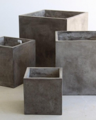 Light weight cube planters