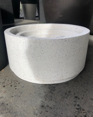 Terrazzo Low Cylinder