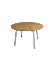 Industrial Dining Table Round D135 NOW $1,000