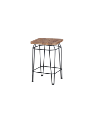 Match square counter stool