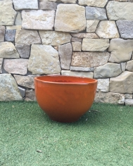 Orange Bowl Pot