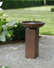 Parma Copper Tall Waterfeature