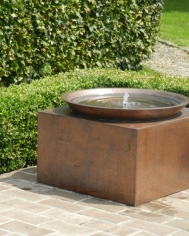 Perugia Copper Waterfeature