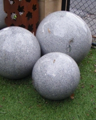 Polished Granite Spheres