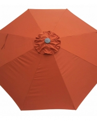 Orange Market Umbrella 275cm