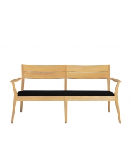 Twizt Love Seat Wooden