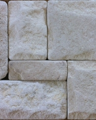 White Limestone Tumbled 300x600