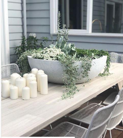 Terrazzo Bowl White
