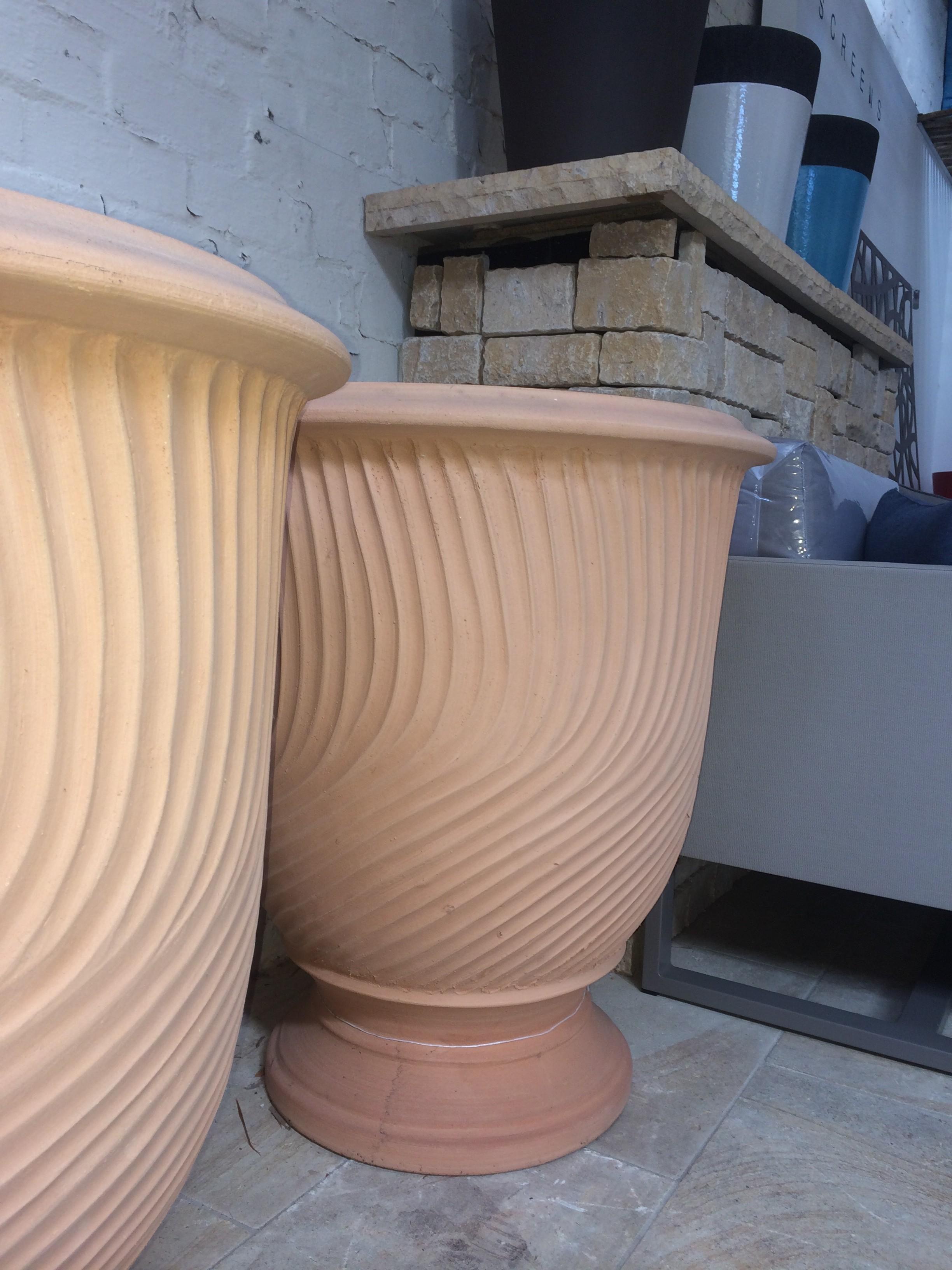 Les Vase Stries Naturelle