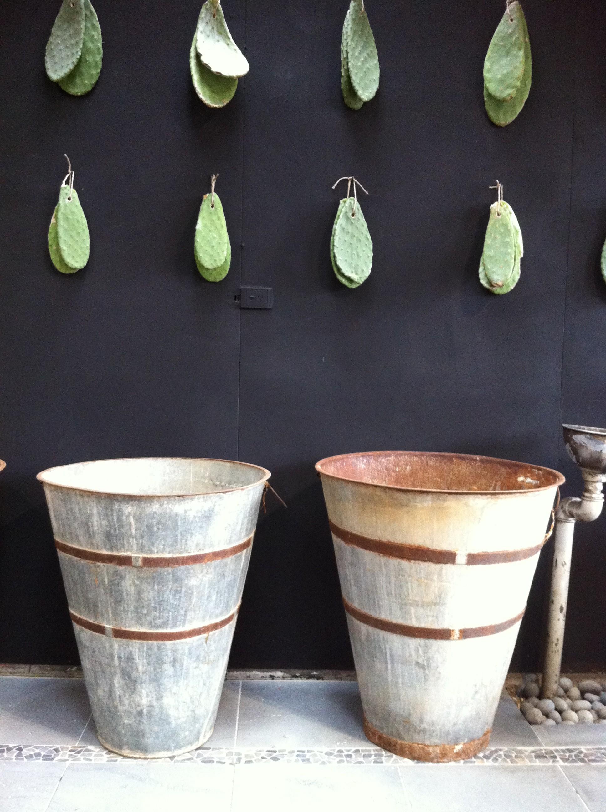 Vintage Olive Urn