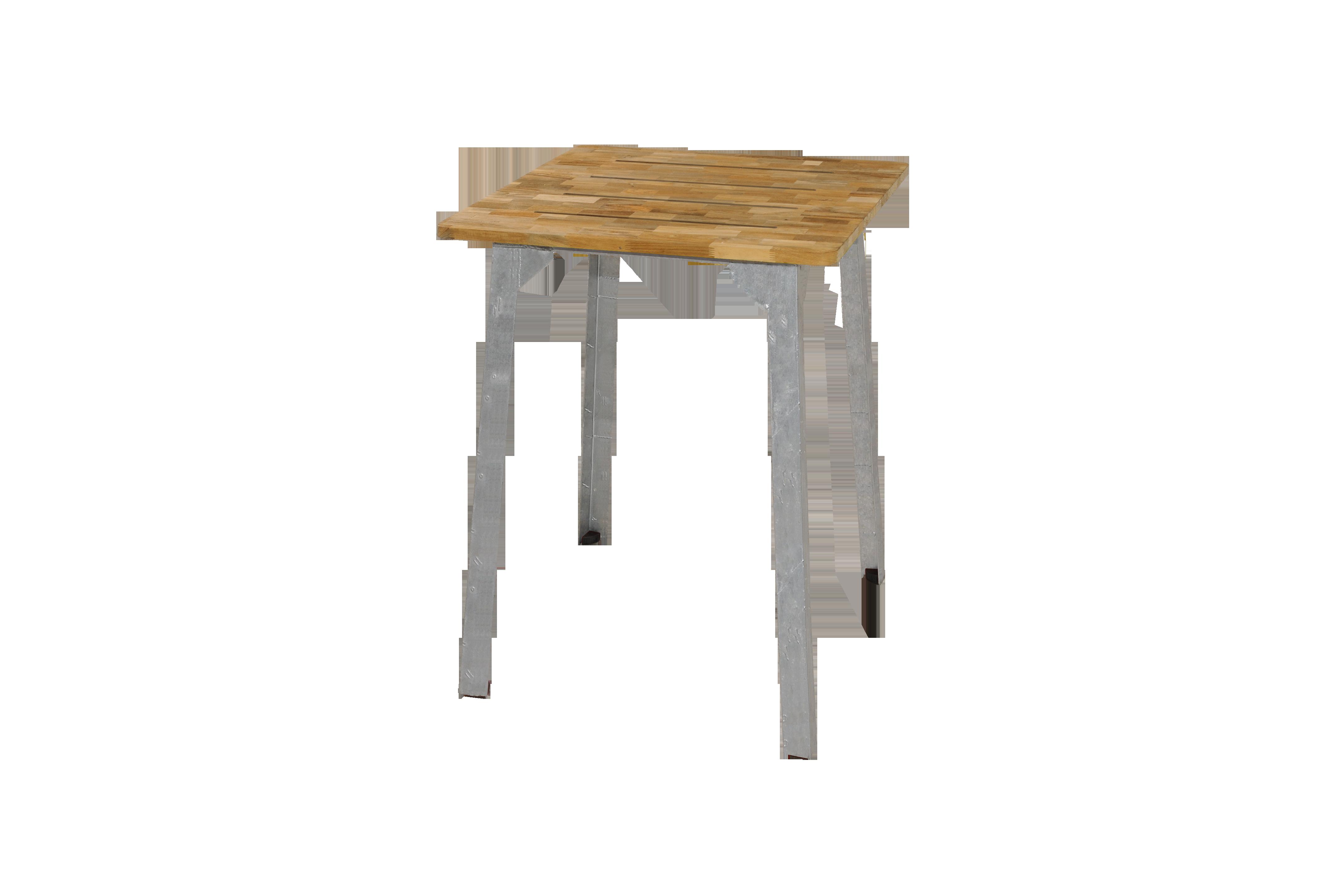 Industrial Bar Table 80x80
