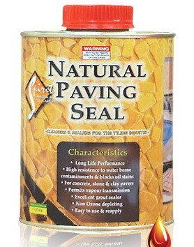 Natural Paving Seal