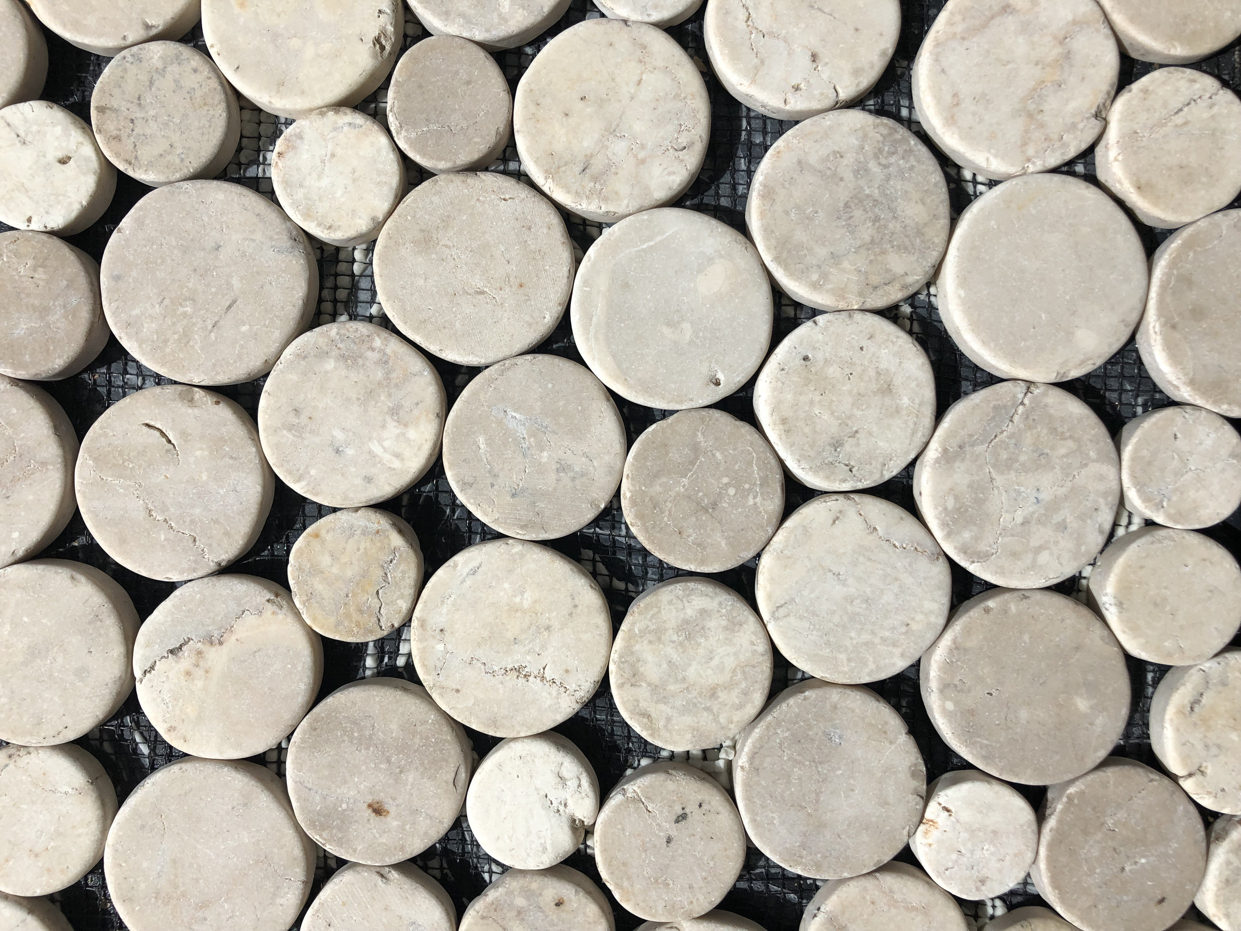 White Marble Coin