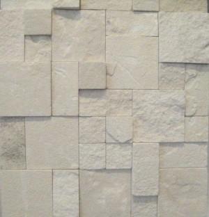 3D White Limestone Roughcut
