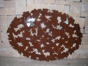 Maple Leaf Wall Plaque