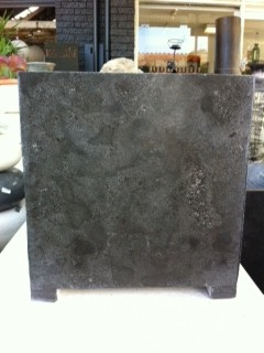 Polished Blue Limestone Pot