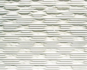 White Limestone Triple Chiselled
