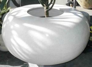 White Terrazzo Orb