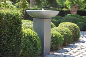 Zinc Water Feature